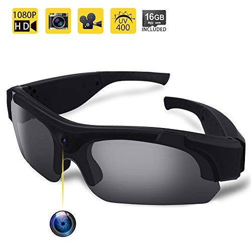 WISEUP 16GB 1080P HD Eyewear Video Recording...