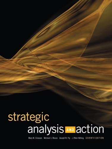 Strategic Analysis and Action (7th Edition)