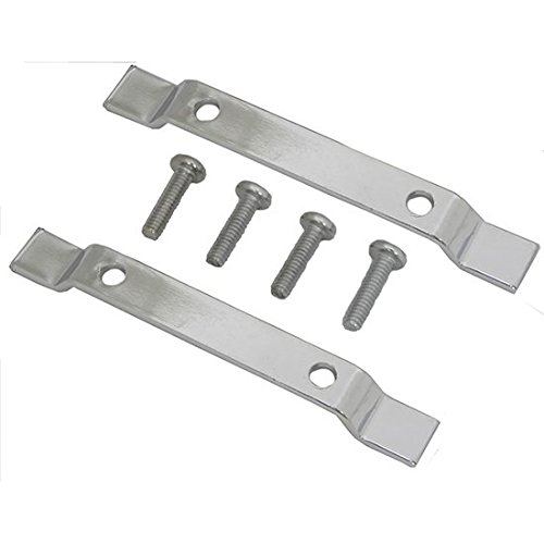 Mustang Motorcycle Products Sissy Bar Pad Mounts Pair ()