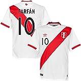 Peru Home Farfán Jersey 2015 / 2016 (Fan Style Printing) - XL