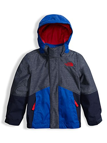 The North Face Toddler Boys' Boundary Triclimate Jacket Cosmic Blue Heather 2T by The North Face