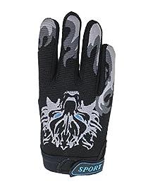 Bike Cycling Gloves Children Non-slip Kids Gloves Warm Sports Mittens