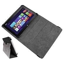 DURAGADGET Premium New Folio PU Leather Case Cover With Stand For Asus VivoTab ME400, Asus Smart Pad MeMO ME301T, Asus VivoBook S400CA, Asus MEMO PAD 10 & Asus Transformer Pad TF701T Tablet