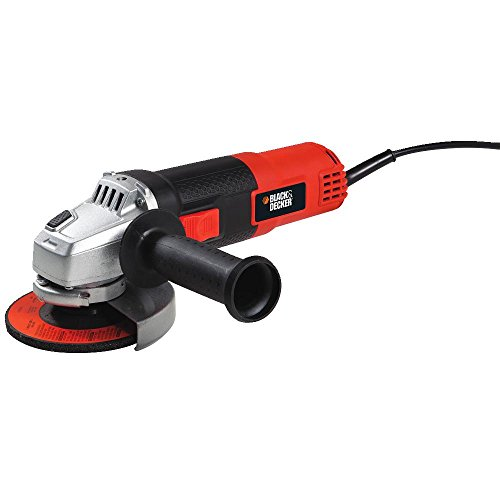 Find Cheap Black & Decker BDEG400 6-Amp Angle Grinder, 4-1/2-Inch