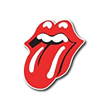 "The Rolling Stones Sticker Rock Band Decal for Car Window, Bumper, Laptop, Skateboard, Wall, ETC. (3"")"