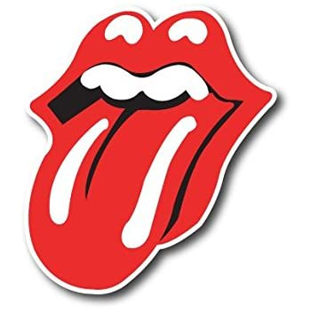 Amazon Com Rolling Stones Tongue Vynil Car Sticker Decal