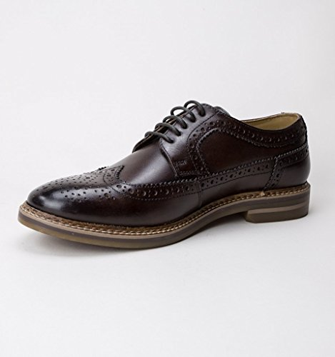 Brouge London Stringate Brown Turner Base Scarpe Uomo UIw044q