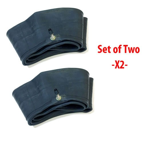 SET OF TWO: MMG Motorcycle Inner Tube 2.50/2.75-10 | 80/90-10 | 80/100-10 - TR4 Straight Valve -