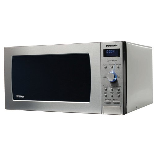 Panasonic NN-SD797S Stainless 1250W 1.6 Cu. Ft. Countertop/Built-in Microwave with Inverter Technology