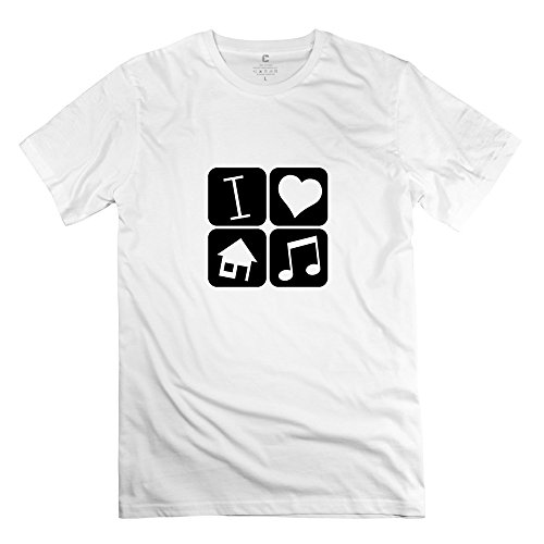 Offensive Short Sleeve Love House Music Tee Shirt For Adult by DEARFISH Tee
