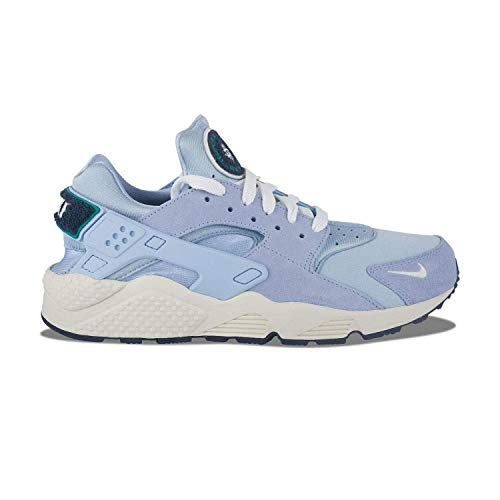 NIKE Huarache Run Premium Mens Shoes Royal Tinit/Sail/Blue Void 704830-403 (11 M US)