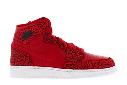 Jordan 1 Retro Hi Prem Gym Red (7 M US Big Kid)