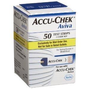 ACCU-CHEK Aviva Plus Mail Order Test Strips, 50-Count Box AC