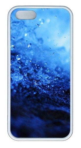 Acqua Splash Closeup Gocce In Silicone Tpu Gomma Per Iphone 5 E