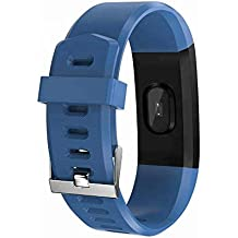 Smart Fitness Tracker, Health Monitoring Watch, Blood Pressure, Calories Burned and Information Reminder