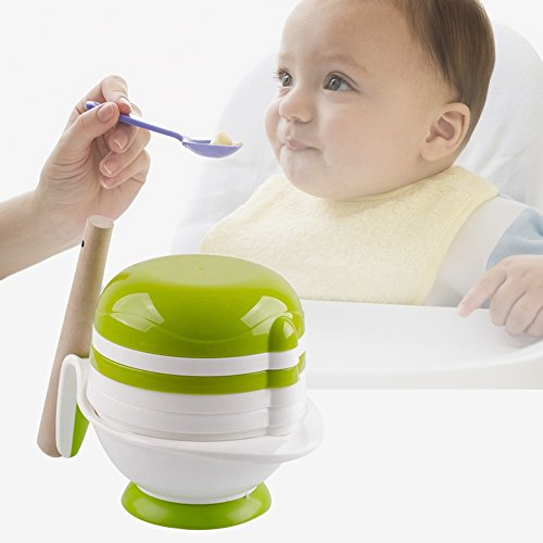 Baby Food Grinding Bowl Practical PP Food Mill for Making Homemade Baby Food by Pueri from Pueri