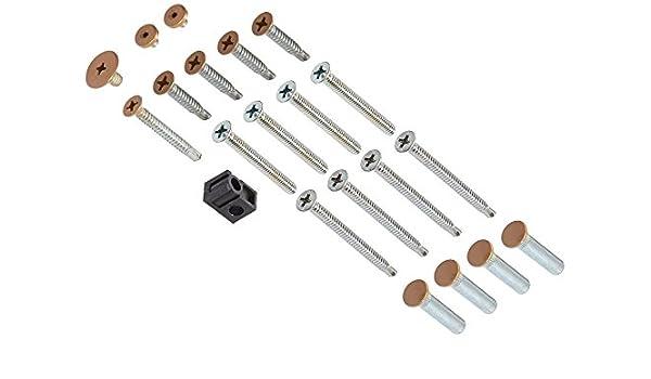 LCN 4110TBSRTLTB 4110-TBSRT 691 Light Bronze Screw Pack Top Notch Distributors