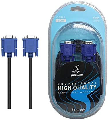 Cable VGA Macho a Hembra Blindado para PC a Monitor Proyector 3 ...
