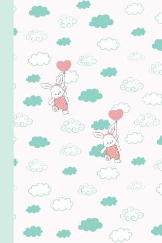 Bunny Journal (Journal: Bunnies with Balloons 6x9 - DOT JOURNAL - Journal with dotted pages (Holiday Dot Journal Series))