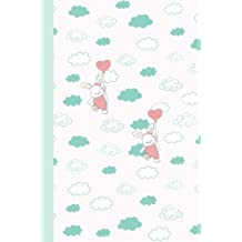Journal: Bunnies with Balloons 6x9 - DOT JOURNAL - Journal with dotted pages (Holiday Dot Journal Series)