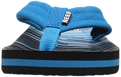 Reef Ahi, Zapatos de Primeros Pasos para Bebés Varios colores (Blue Lines)