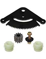 CALTRIC STEERING SECTOR & PINION GEAR w/BUSHINGS FIT JOHN DEERE D130 D140 D150 D160 D170