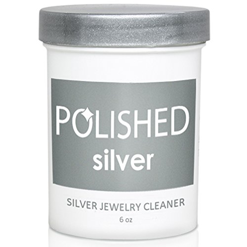 Polished Silver Jewelry Cleaner Kit - Professional Jewelry Cleaning in 1-Minute | Silver Cleaning Solution, Polishing Cloth + Anti-Tarnish Jewelry Bags | Made in USA + Best Sterling Silver Cleaner by Polished (Image #1)