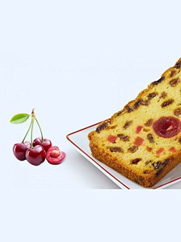 Forchy – Fruit cake – candied cherries from Provence 275 g. 4 Slices (Pack of 2) by Forchy (Image #1)