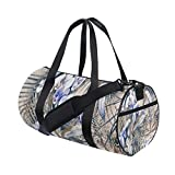 Unisex's Duffel Bag Travel Tote Luggage Bag Gym Sports Luggage Bag