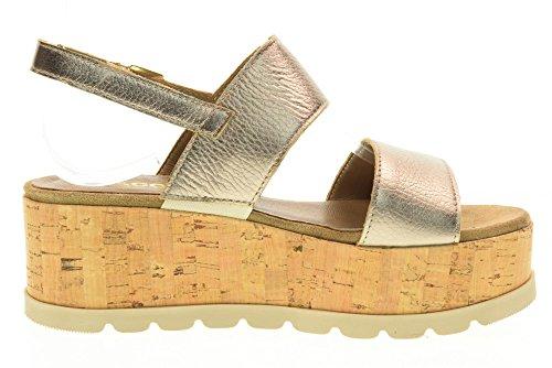 IGI&CO Las sandalias de las mujeres zapatos con cuña 78622/00 Champagne