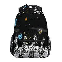 Cute Little Corgi Dogs Pattern Backpacks Travel Laptop Daypack School Bags for Teens Men Women