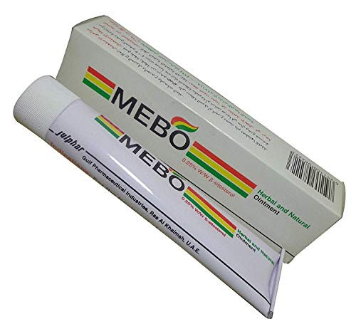 MEBO Burn Fast Relief Pain Cream Skin Healing Ointment Wound & Scar No Marks Care Fast First Aid Health Beauty Care (1 Tube = 30 grams) (Ointment Relief Healing Skin)