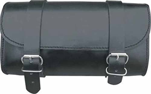 Allstate Leather Small Leather Motorcycle Tool Bag Plain, Studs or Fringes
