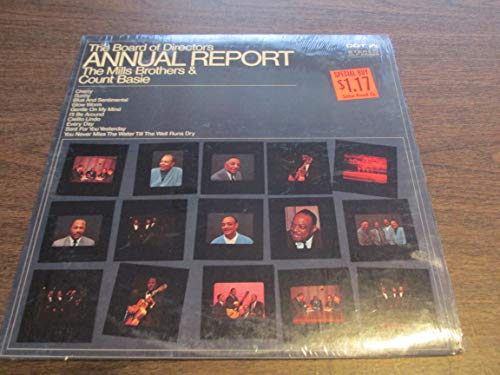 The Mills Brothers & Count Basie , - The Board Of Directors Annual Report - Dot Records - SMD 74 554, Dot Records - LPS 76 745, Dot Records - DLP 25888