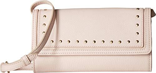 artphone Wallet Crossbody Clutch Bag, Peach Blush ()