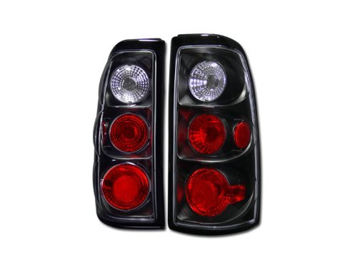 BLK HOUSING ALTEZZA TAIL LIGHTS BRAKE LAMPS L+R 2003-2006 CHEVY SILVERADO PICKUP Review