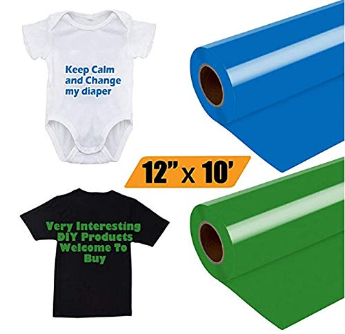 UNSKAM Heat Transfer Vinyl, Assorted Colors HTV Vinyl Sheets HTV Vinyl Easy to Cut & Weed, DIY Heat Press Design for T-Shirt, Clothes, Hats and Other Textiles