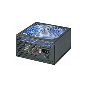 Coolmax 700W 120mm Blue LED Fan Power Supply CL-700B (Black)