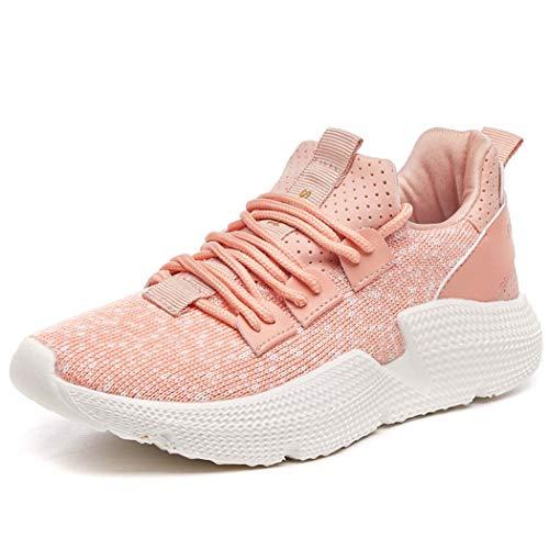 Zapatos Al Transpirables Amortiguación Pink Deportivas Moda Mujeres Zapatillas De Casuales Las Miss amp;yg Libre Aire qTtW7zE