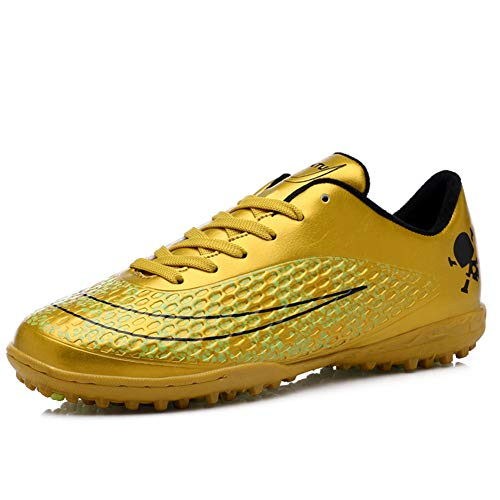 LFLDZ Football Boots Junior, Men's Soccer Training Shoes Kids Soccer Boots Cleats Profession Athletics Teenager Outdoor…