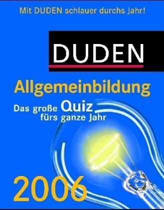 Duden - Allgemeinbildung 2009