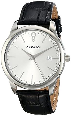 Azzaro Men's AZ2040.12SB.000 Legend Analog Display Swiss Quartz Black Watch (Azzaro Men Quartz)