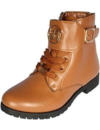 Girls Classic Combat-Style Boots (Toddler/Little Girls/Big Girls)