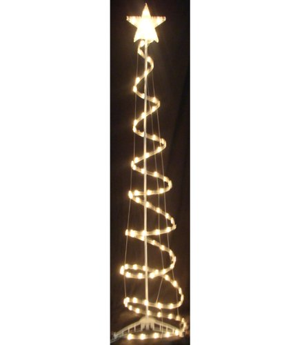 Outdoor Lighted Tree Sculpture - 2