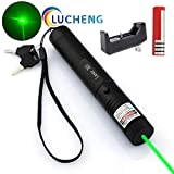 LUCHENG A Full Set of Green 301 Single Point Light Pointer high-Power Remote Demonstration (Back)