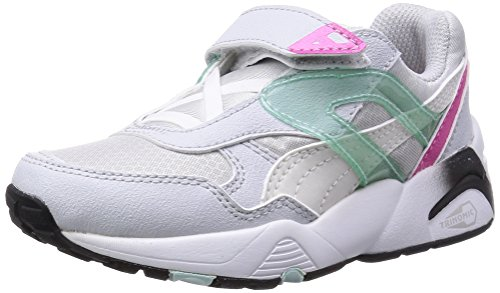 Puma KIDS R698 MESH-NEO Chaussures Mode Sneakers Enfant Blanc