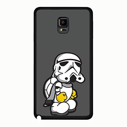 Cute Fantasy Film Star Wars Phone Case Solid Phone Cover for Samsung Galaxy Note 4