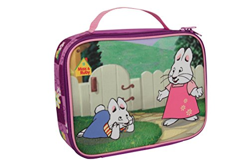 Max & Ruby Insulated Lunch Sleeve - Reusable Heavy Duty Tote Bag w Mesh Pocket - in The ()