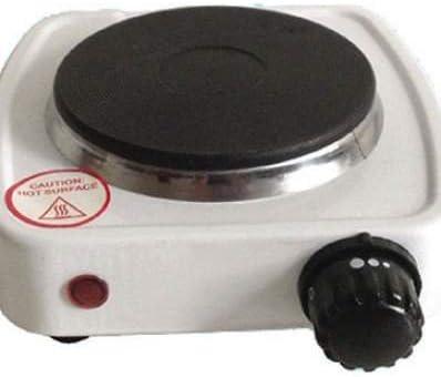 Hornillo con placa eléctrica Caffe de 10 cm, potencia 500 W ...
