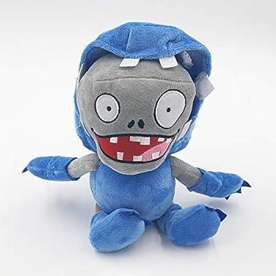 TavasHome Plants vs. Zombies 2 PVZ Figures Plush Stuffed Soft Toys Doll Egg Pusher Imp Zombie: Toys & Games